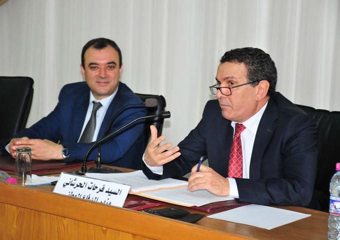 الاجتماع الدوري التنسيقي بين الإطارات العسكرية والأمنية العليا