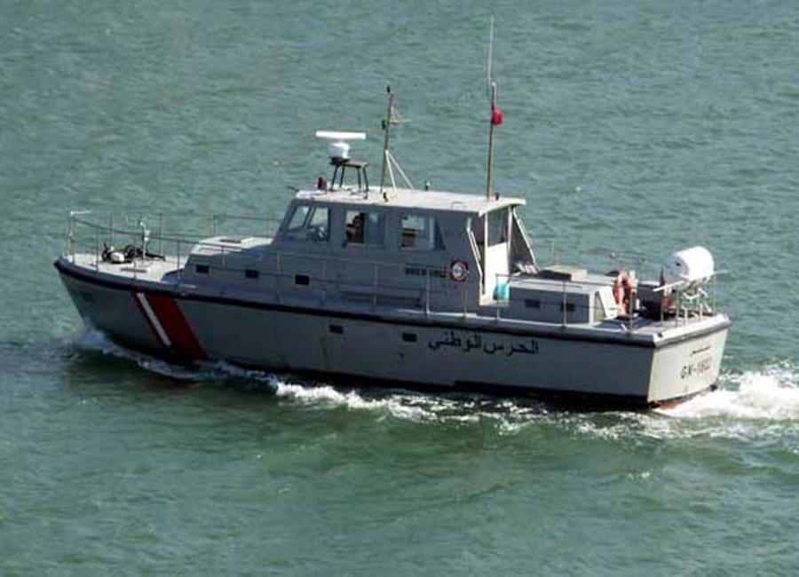 الحرس البحري ببنزرت يحبط عملية اجتياز الحدود البحرية خلسة