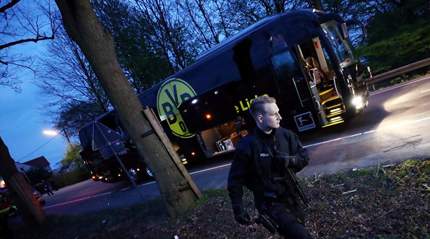 محققون ألمان يبحثون في من يقف وراء الهجوم على حافلة لاعبي بروسيا دورتموند
