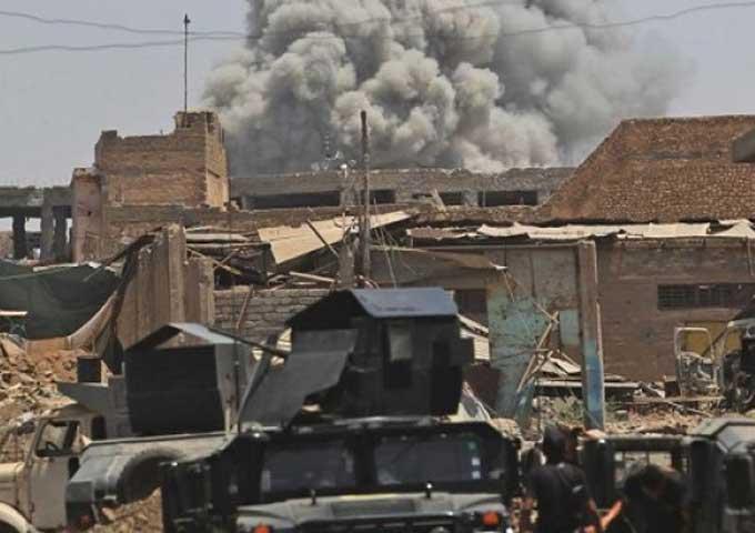"""مسلحون يفجرون مسجدا بالطريق الرابط بين """"كركوك"""" و""""تكريت"""""""