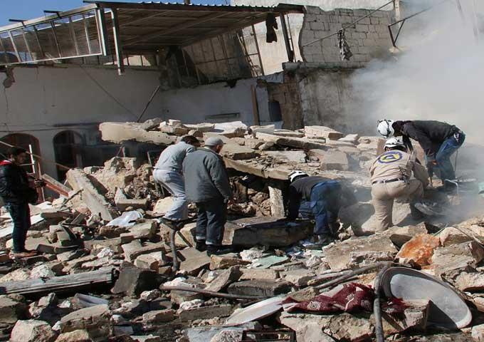 الهدوء يسود الغوطة الشرقية بسوريا