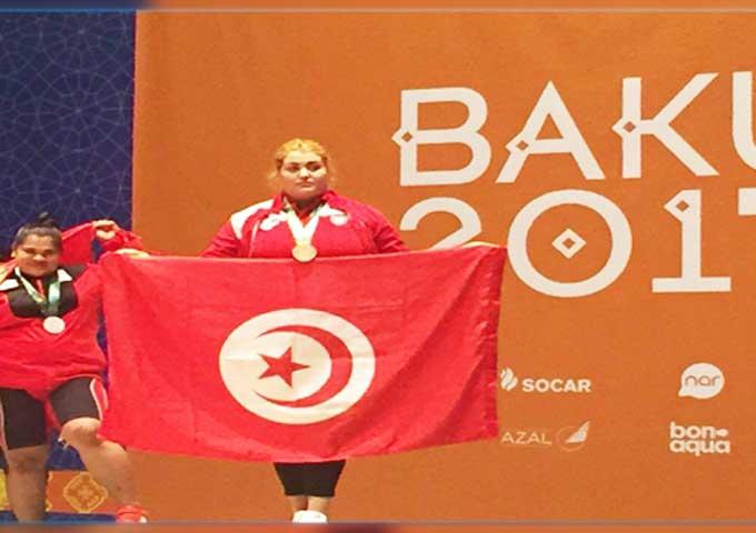 مروى الجلاصي تضيف 3 ميداليات جديدة للحصيلة التونسية في بطولة إفريقيا لرفع الأثقال