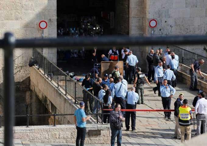 استشهاد فلسطينية أصيبت بالرصاص بزعم طعنها لجندي اسرائيلي