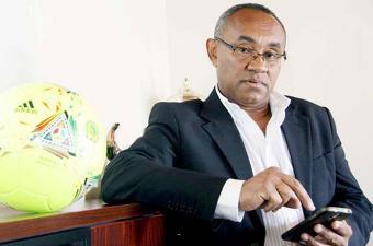 الملغاشي احمد الاحمد رئيسا جديدا للاتحاد الإفريقي لكرة القدم
