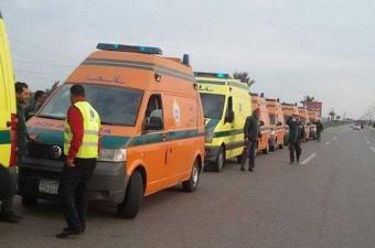 مقتل 20 شخصا في حادث تصادم بصعيد مصر