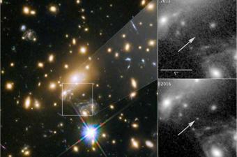 اكتشاف أبعد نجم يرصده الانسان حتى الآن على بعد 9.3 مليار سنة ضوئية