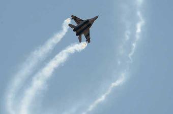 سقوط مقاتلة روسية الصنع في مصر