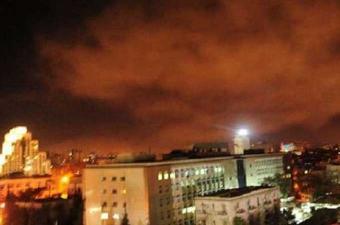 الإعلام السوري: خسائر مادية فقط في هجوم غربي على مركز برزة