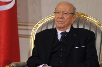 رئيس الجمهورية الباجي قايد السبسي