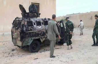 ليبيا: 4 قتلى إثر هجوم ارهابي استهدف حاجزا أمنيا شرق طرابلس