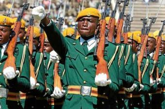 جيش الزمبابوي