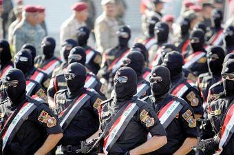 استعراض عسكري ببغداد بمناسبة تحرير الموصل