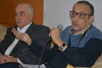 المؤتمر الصحفي لمدير مهرجان المسرح العربي ومنسقه العام