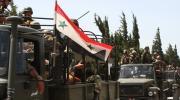 الجيش السوري يتقدم على حساب تنظيم داعش الارهابي قرب حلب