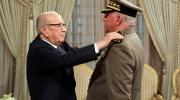 ترقية العميد حبيب الضيف المدير العام لوكالة الاستخبارات والأمن للدفاع إلى رتبة أمير لواء