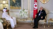 قايد السبسي يتباحث مع وزير الخارجية القطري مستجدات الوضع على الساحة الخليجية