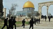 قوات الاحتلال الإسرائيلي تخرب بعض مرافق المسجد الأقصى