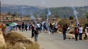 إصابات بالاختناق خلال قمع قوات الاحتلال لمسيرة نعلين السلمية بالضفة الغربية