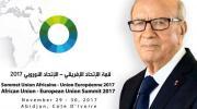 رئيس الجمهورية يتوجه إلى أبيدجان للمشاركة في قمة الاتحاد الافريقي /الاتحاد الأوروبي