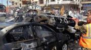 المرصد السوري: 30 قتيلا على الأقل في تفجيرين استهدفا زوارا شيعة بدمشق