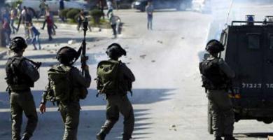 إصابة مواطن فلسطيني