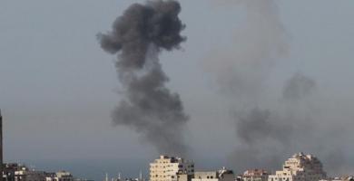 القصف الإسرائيلي الذي استهدف مدينة رفح جنوبي قطاع غزة