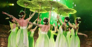 """ليلة استثنائية في عرض """"الباليه الصيني"""" ضمن فعاليات مهرجان قرطاج الدولي"""