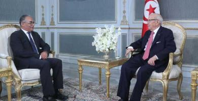 رئيس الجمهورية يلتقي الامين العام لحزب حركة مشروع تونس